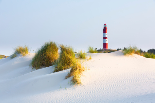 Lighthouse on a dune