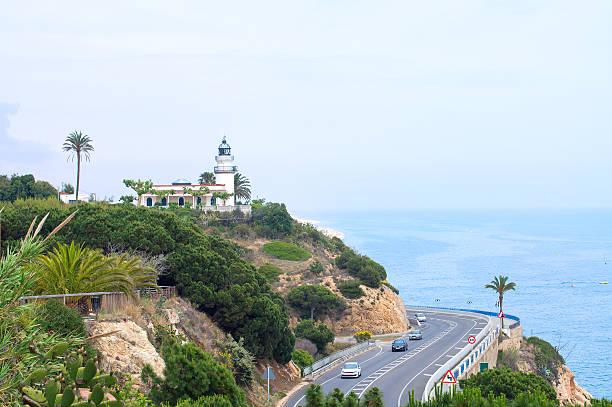 Leuchtturm an der Costa Brava. Spanien – Foto
