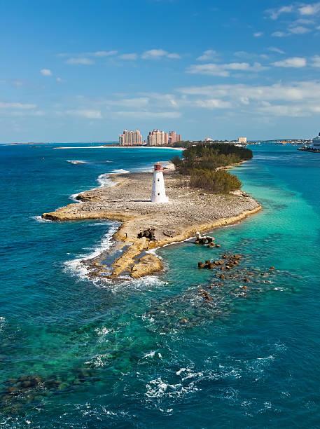Lighthouse on Paradise Island