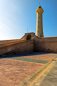 A lighthouse on the Atlantic coast in Rabat, Morocco. North Africa , Nikon D3x