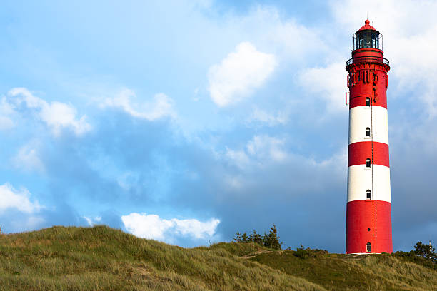 Leuchtturm auf der Insel Amrum – Foto
