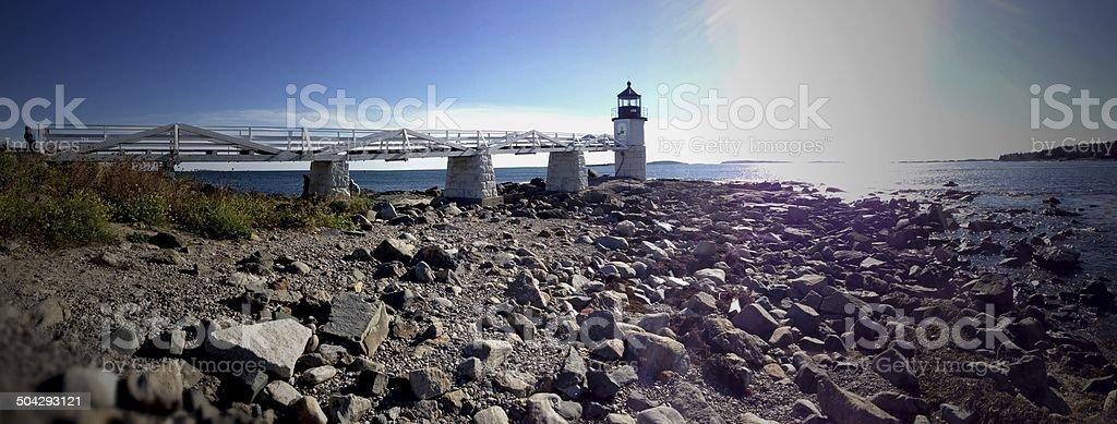 Lighthouse Panoramic stock photo
