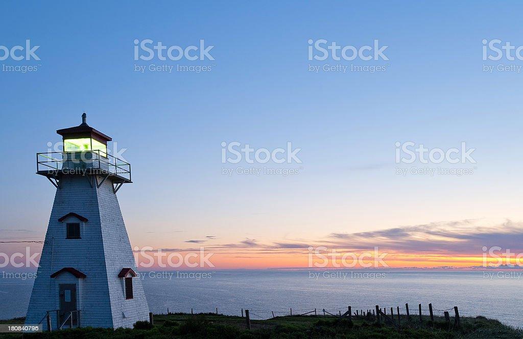 PEI Lighthouse royalty-free stock photo