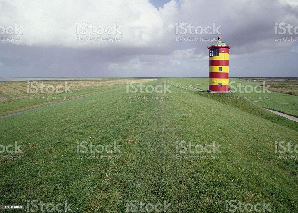 Lighthouse Pilsum (image size XXL) stock photo