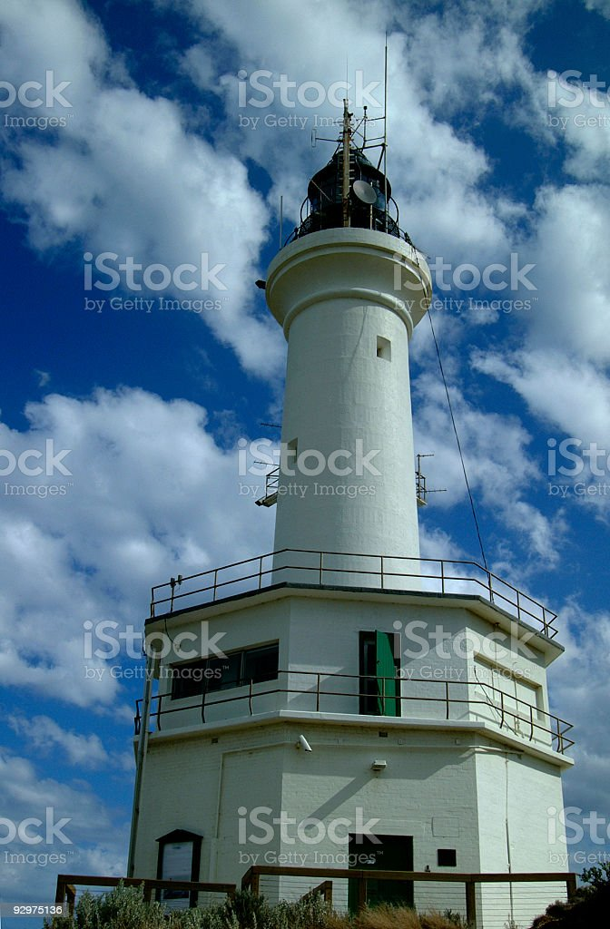 Lighthouse Pt Lonsdale royalty-free stock photo