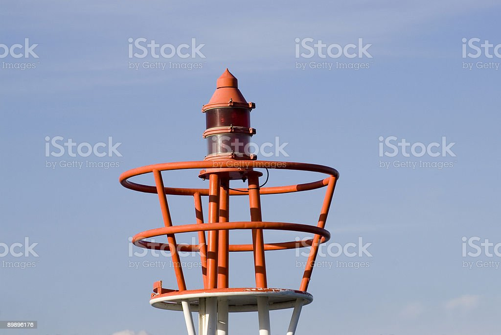 lighthouse top royalty-free stock photo
