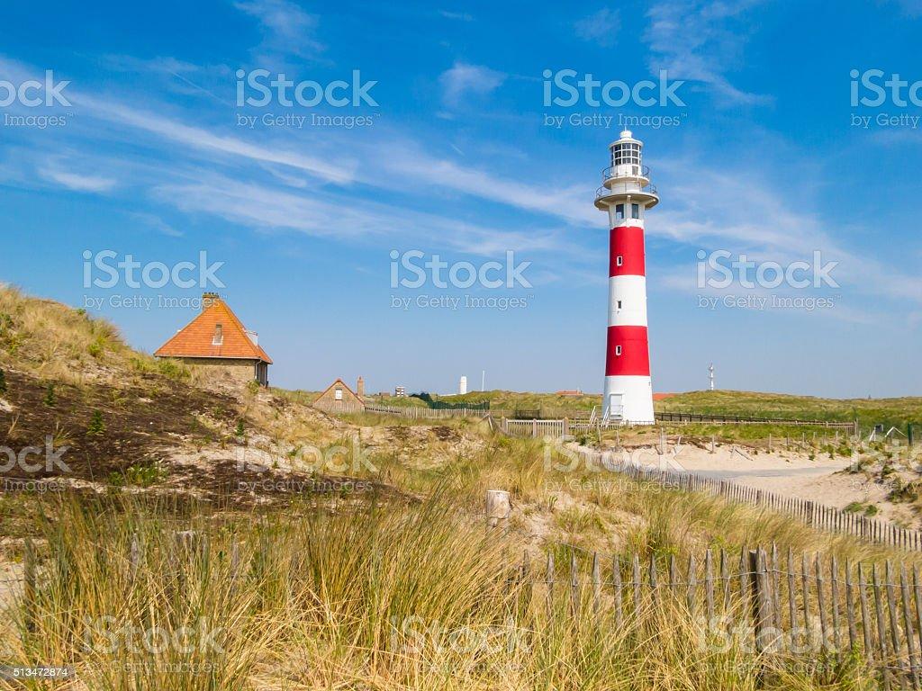 Lighthouse Vierboete, Belgium foto