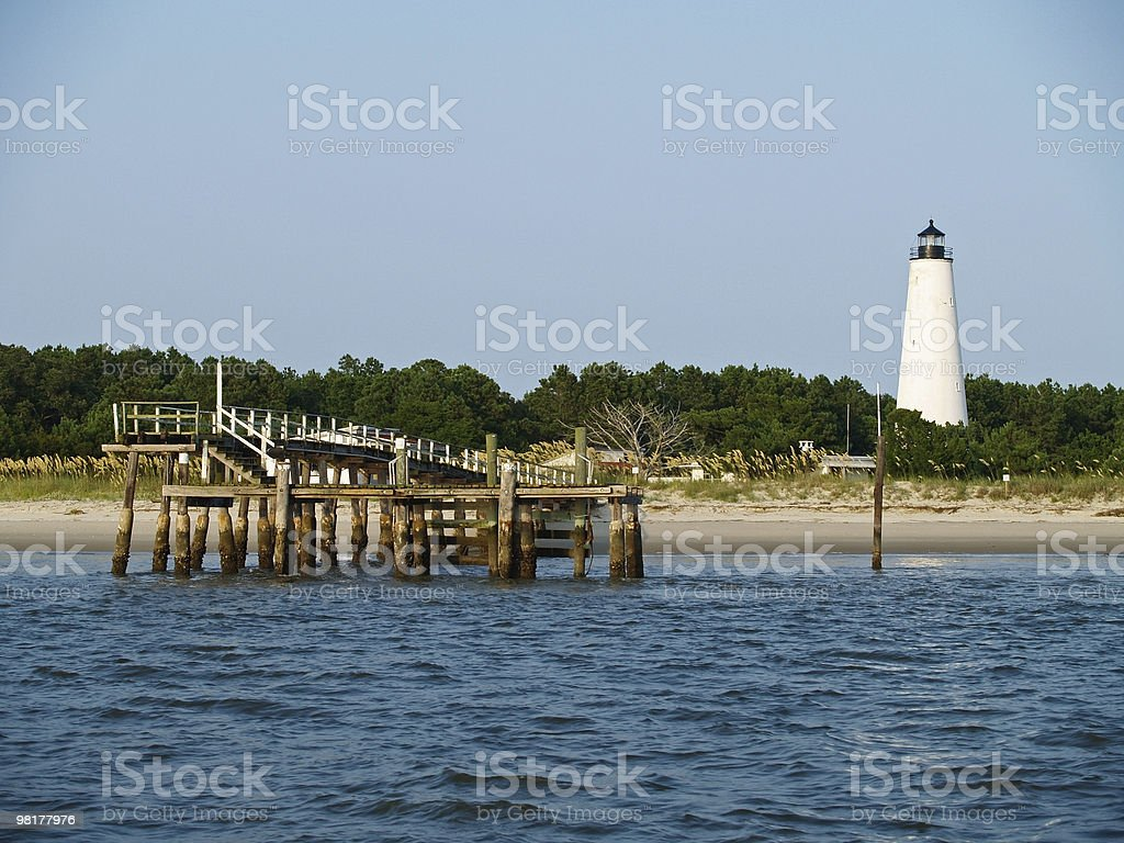 Lighthouse View royalty-free stock photo