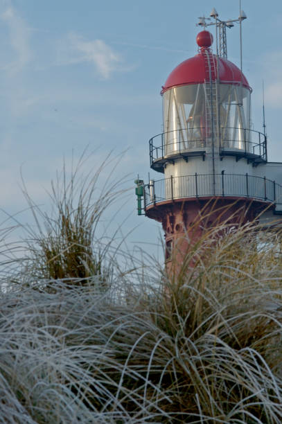 Lighthouse Vlieland stock photo