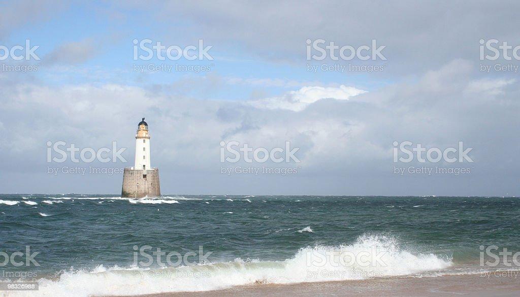 Faro, onde scoprire a terra foto stock royalty-free