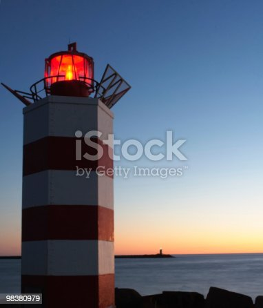 182416027 istock photo Lighthouses at dusk 98380979