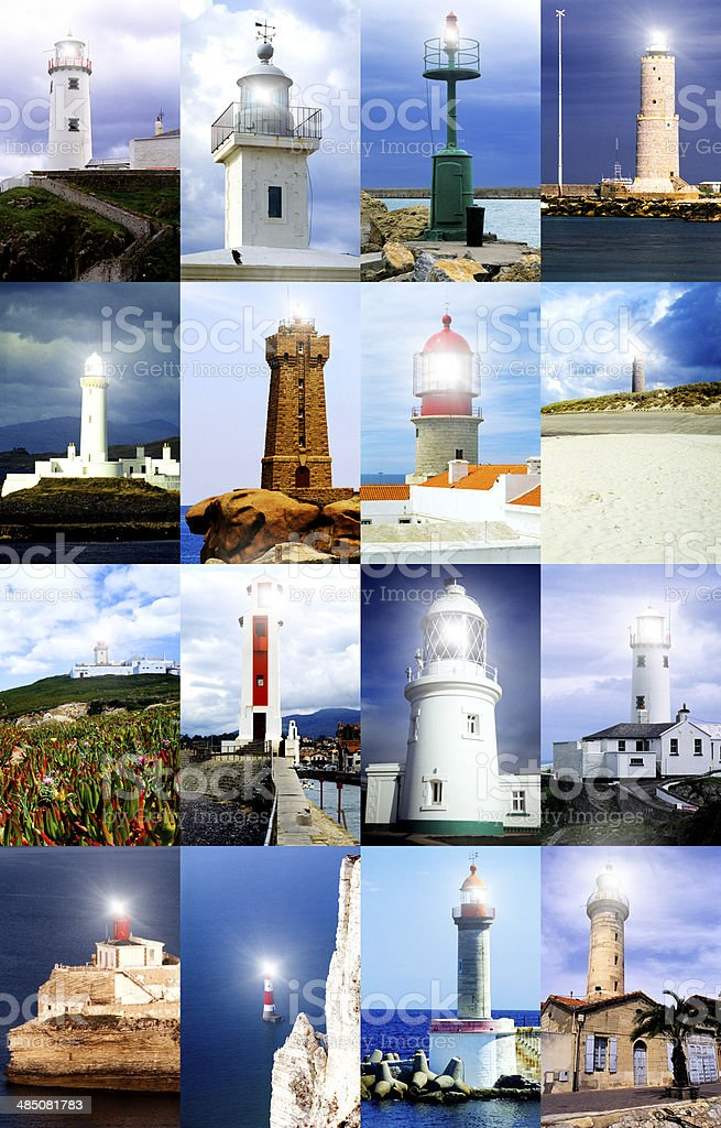 Lighthouses Series royalty-free stock photo