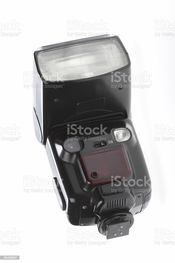Lighting Device, Flash stock photo