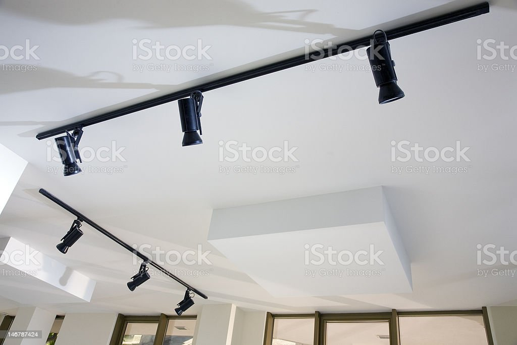 Lighting devices stock photo
