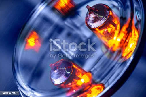 istock Lighting Electronic Tubes 483677371
