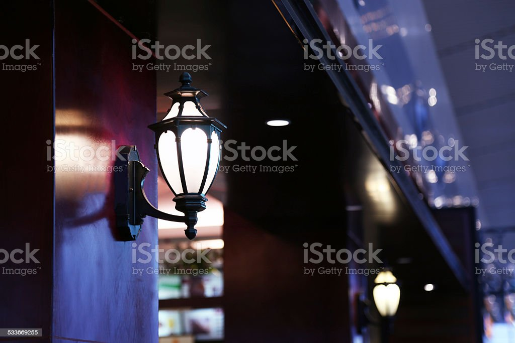 Lighting Equipment, Illuminated,Street Light, stock photo