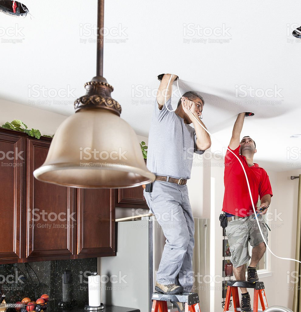 Lighting Installation royalty-free stock photo