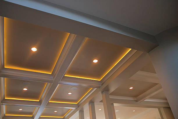 Lighting Ceiling Lighting recession stock pictures, royalty-free photos & images