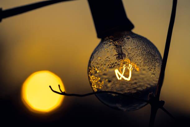 Lighting the Dawn stock photo