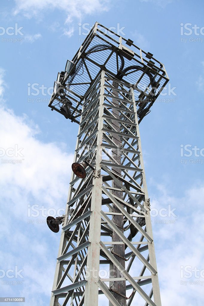 Lighting tower royalty-free stock photo