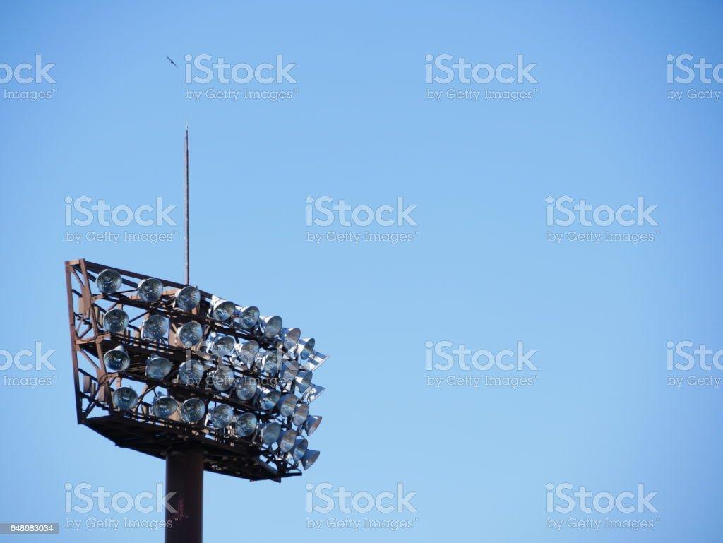 Lighting tower 照明等 ナイター照明 – Foto