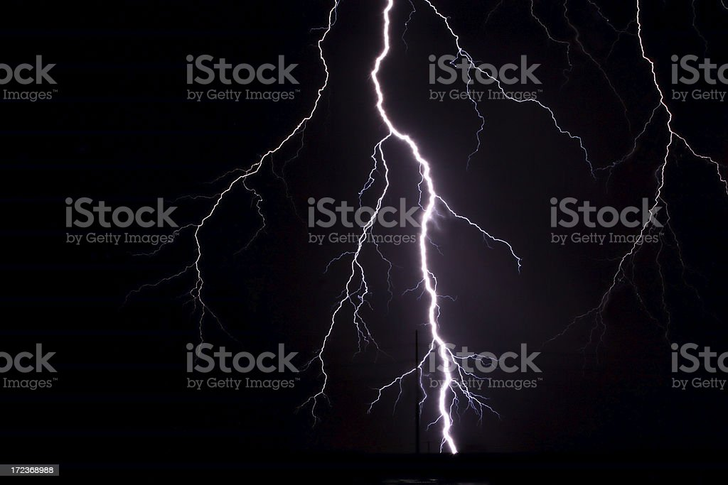 Lightning 1 royalty-free stock photo