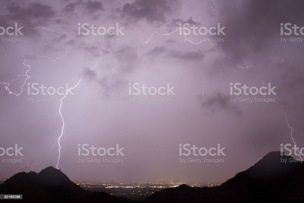 Lightning Arc royalty-free stock photo
