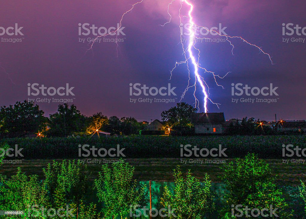 Lightning Bolt stock photo