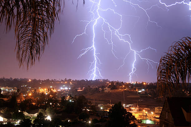 Lightning bolt Vista, Kalifornien – Foto