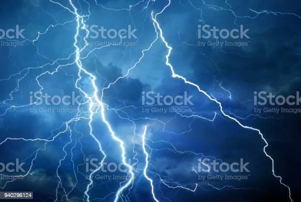 Photo of Lightning during summer storm