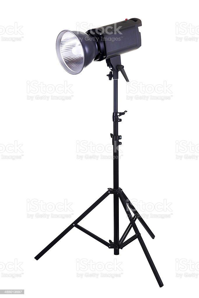Lightning equipment stock photo