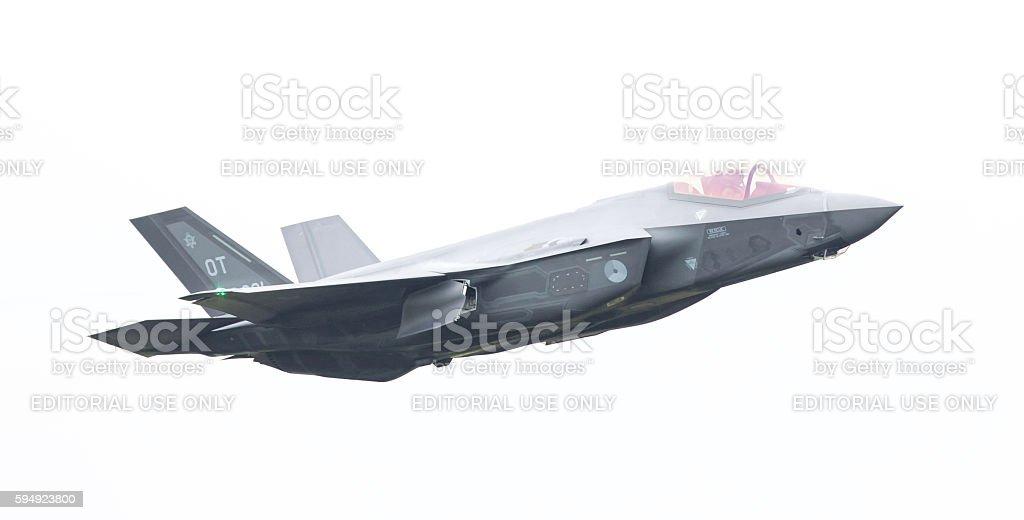 F-35 Lightning II - foto de stock