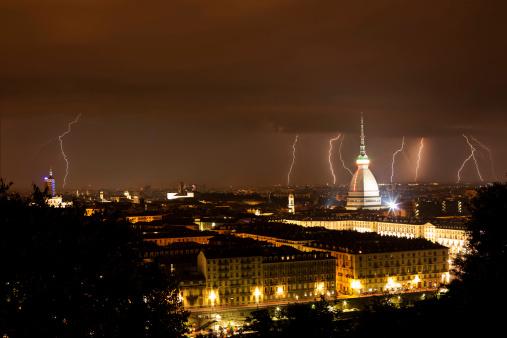 Lightning in Torino