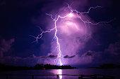 istock Lightning of the Catatumbo, world wonder 1199237495