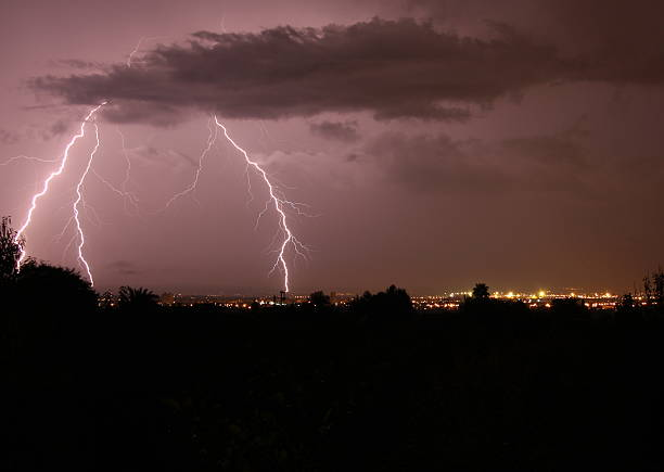 Blitz über Palma de Mallorca 2 – Foto