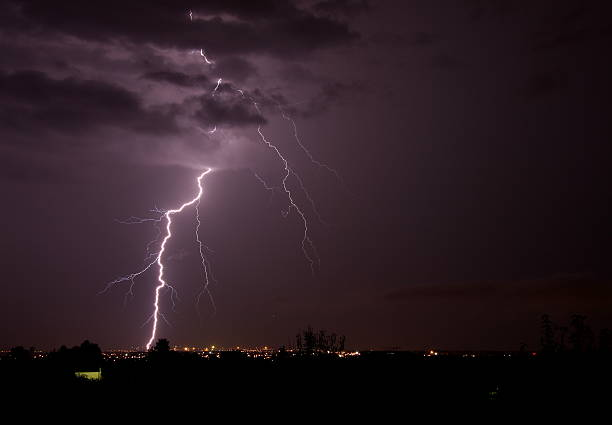 Blitz über Palma de Mallorca – Foto
