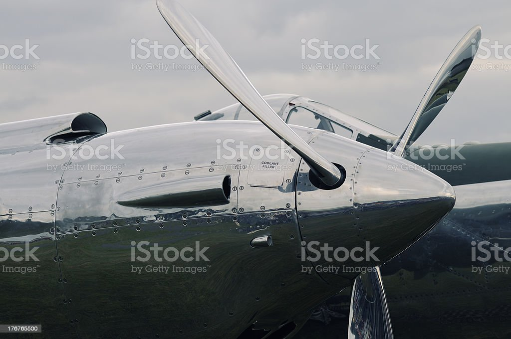 P-38 Lightning royalty-free stock photo