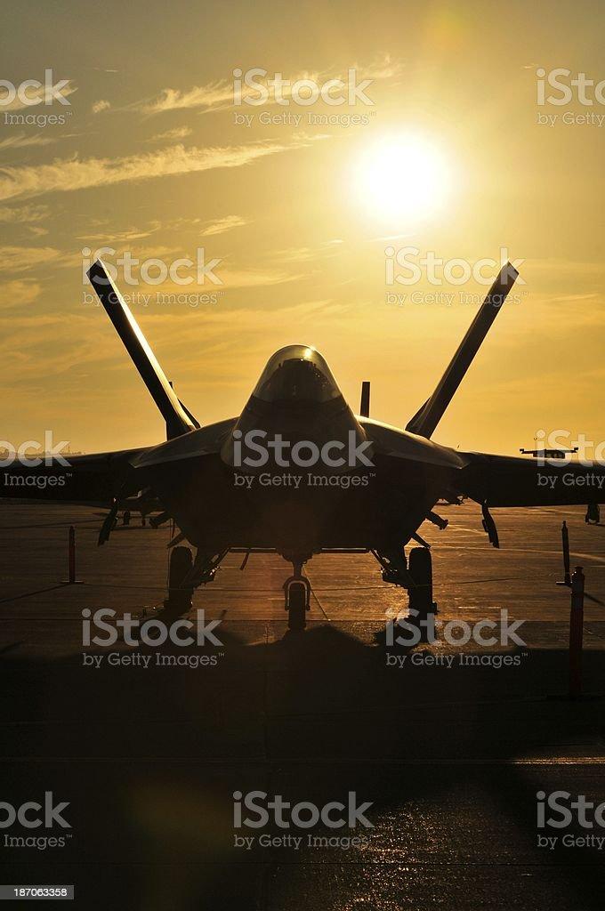 F - 35 relámpagos - foto de stock