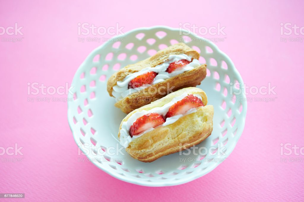 Eclair royalty-free stock photo