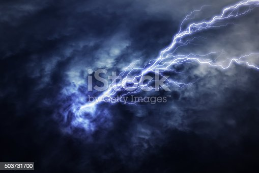istock lightning strike during an electrical storm 503731700