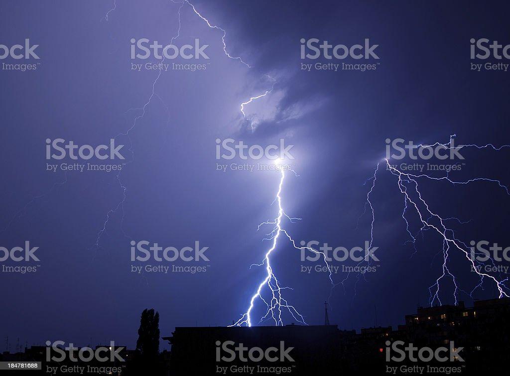Blitze Streik in der Stadt – Foto