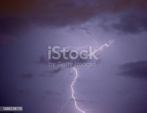656192770istockphoto Lightning strike 1033128170