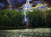 A force of nature on the lake