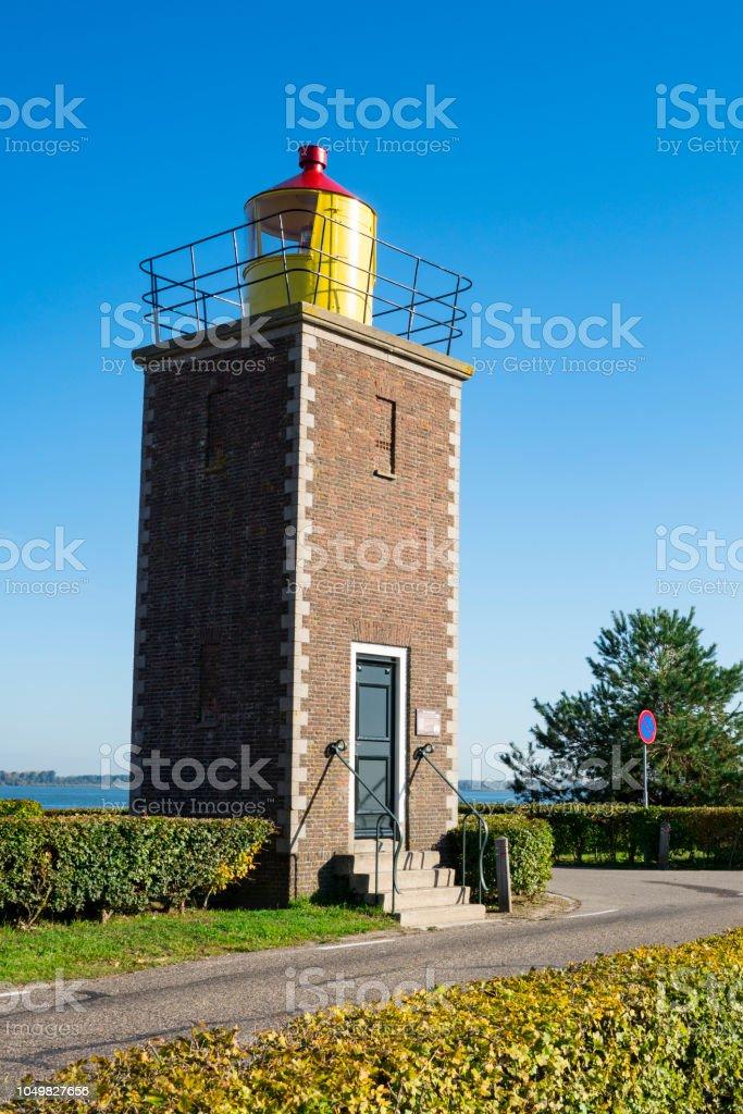 lightouse in Willemstad, Nederland foto