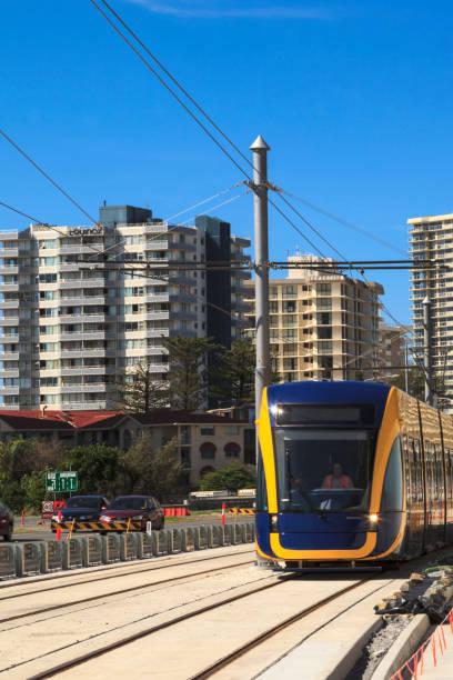 Lightrail Gold Coast Australia. stock photo