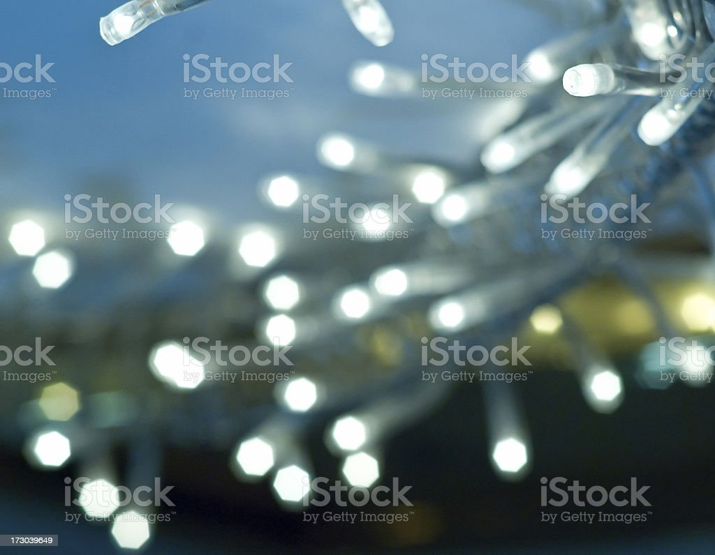 Lights and Blur royalty-free stock photo
