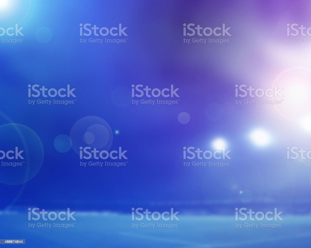 lights and flashes stock photo