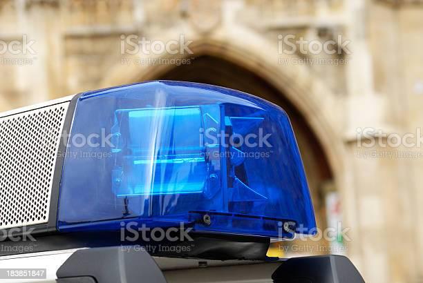 Lichter Und Sirene Von Polizeiauto Stockfoto und mehr Bilder von Auto