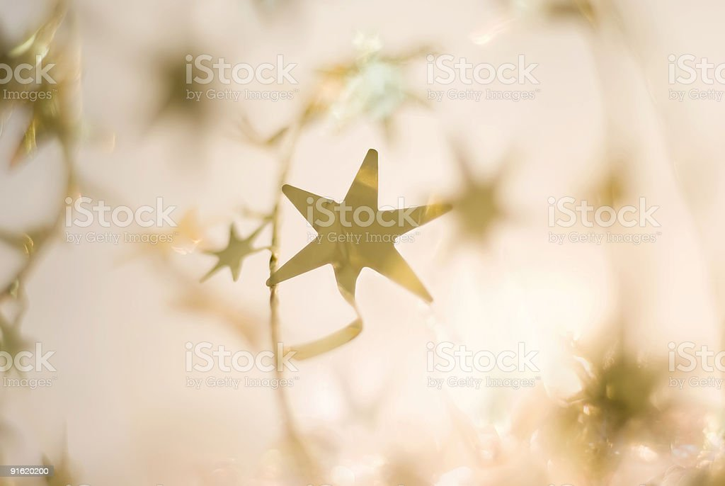 Lights and stars – Holidays series stock photo
