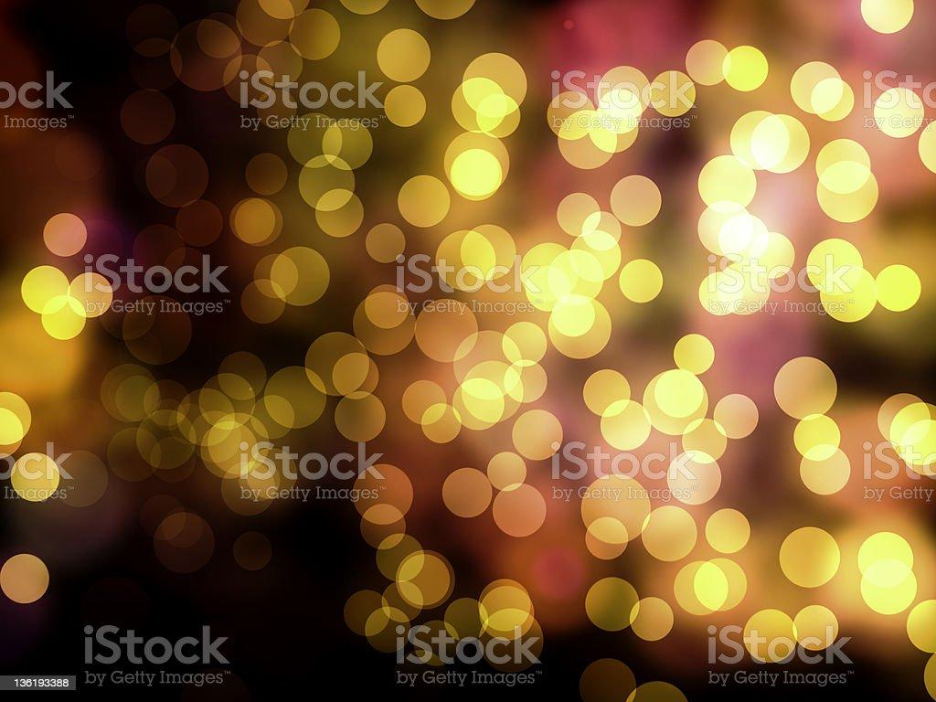 Lights at night royalty-free stock photo